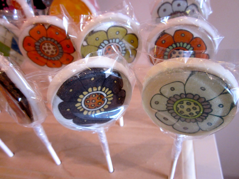 Vintage Confections Flower Lollipops | Sweeterville.com