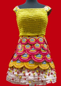 Juicy Fruit Candy Wrapper Dress | Sweeterville.com