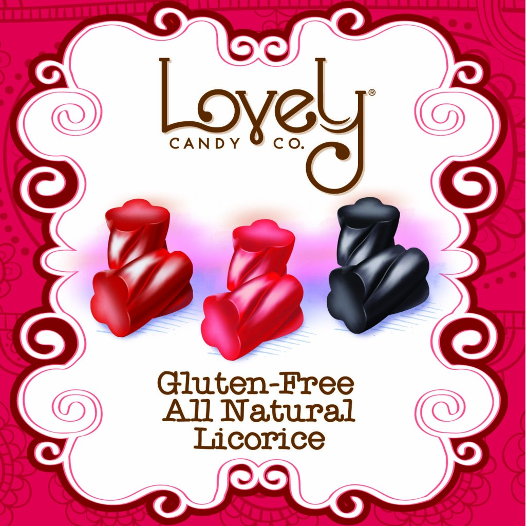 Lovely Candy Company Gluten Free Licorice | Sweeterville.com