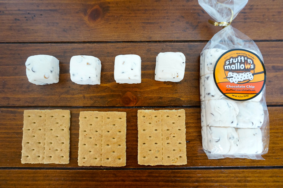 StuffNSmores and graham crackers for glamping | Sweeterville.com