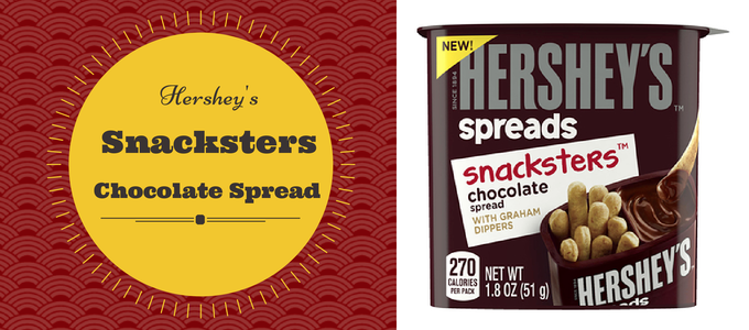 Hershey Snackster Chocolate Spread with Graham Dippers