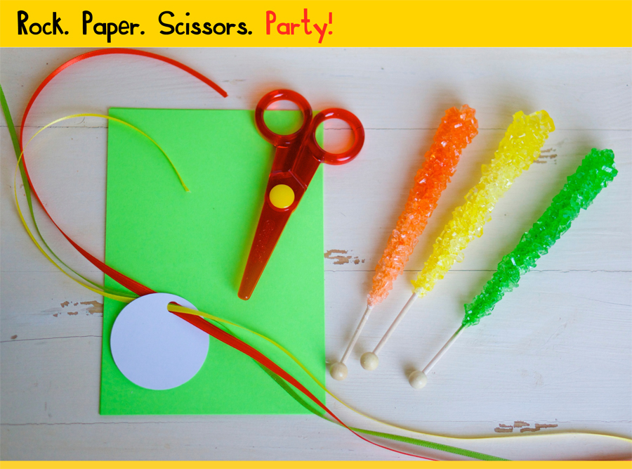 Rock Candy Party Favors are perfect for Rainbow parties!|Sweeterville.com