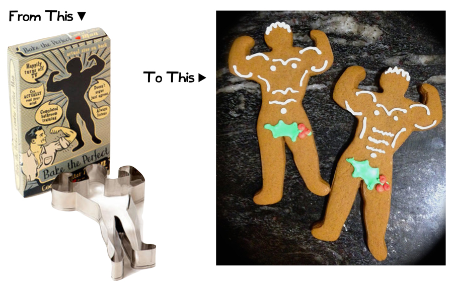The Perfect Man Cookies | Sweeterville.com