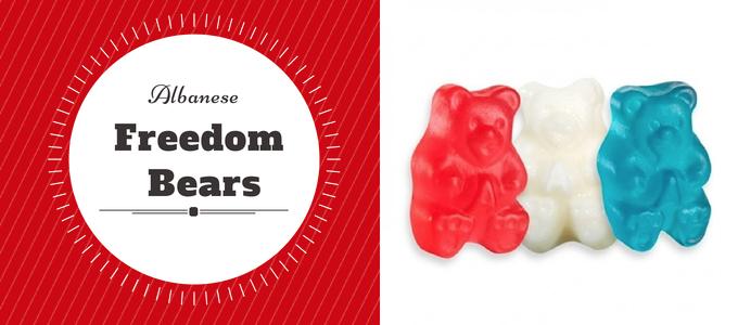 Albanese Freedom Gummy Bears