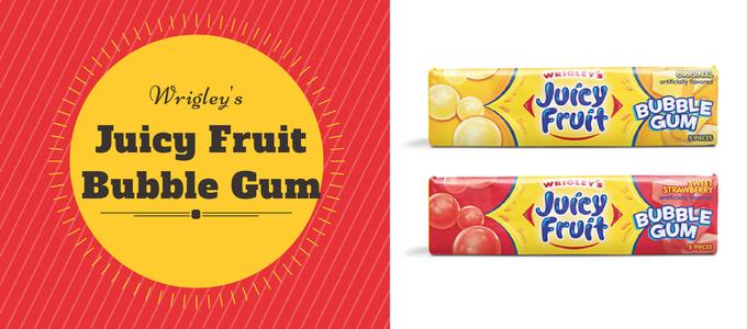 Wrigley Juicy Fruit Bubble Gum