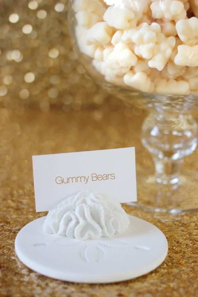 Beach Wedding Gummy Bears
